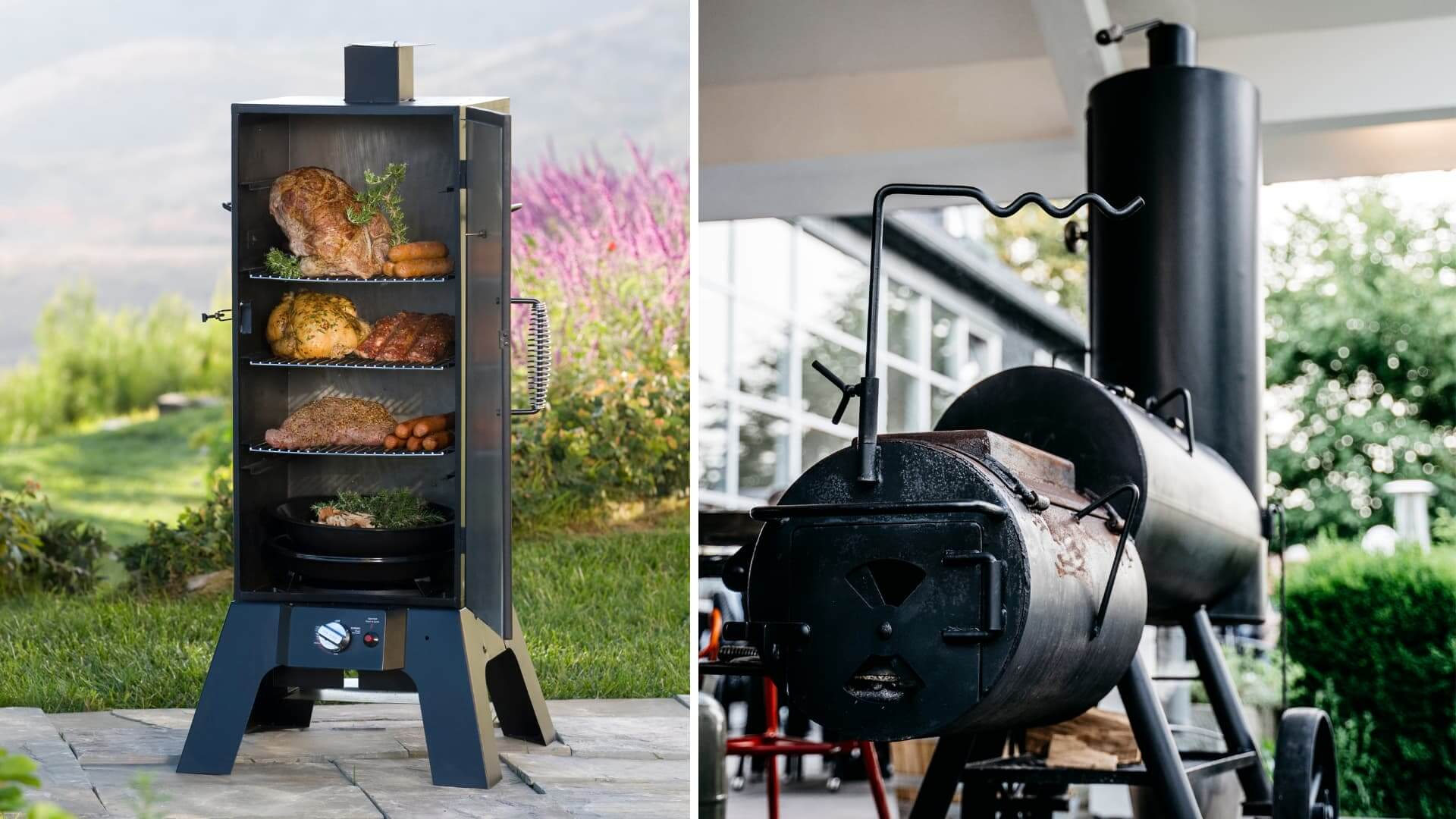 how does an electric smoker work