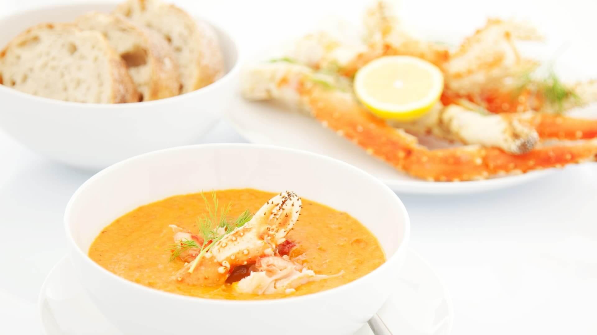 Cajun-Creole Recipes Crab Bisque