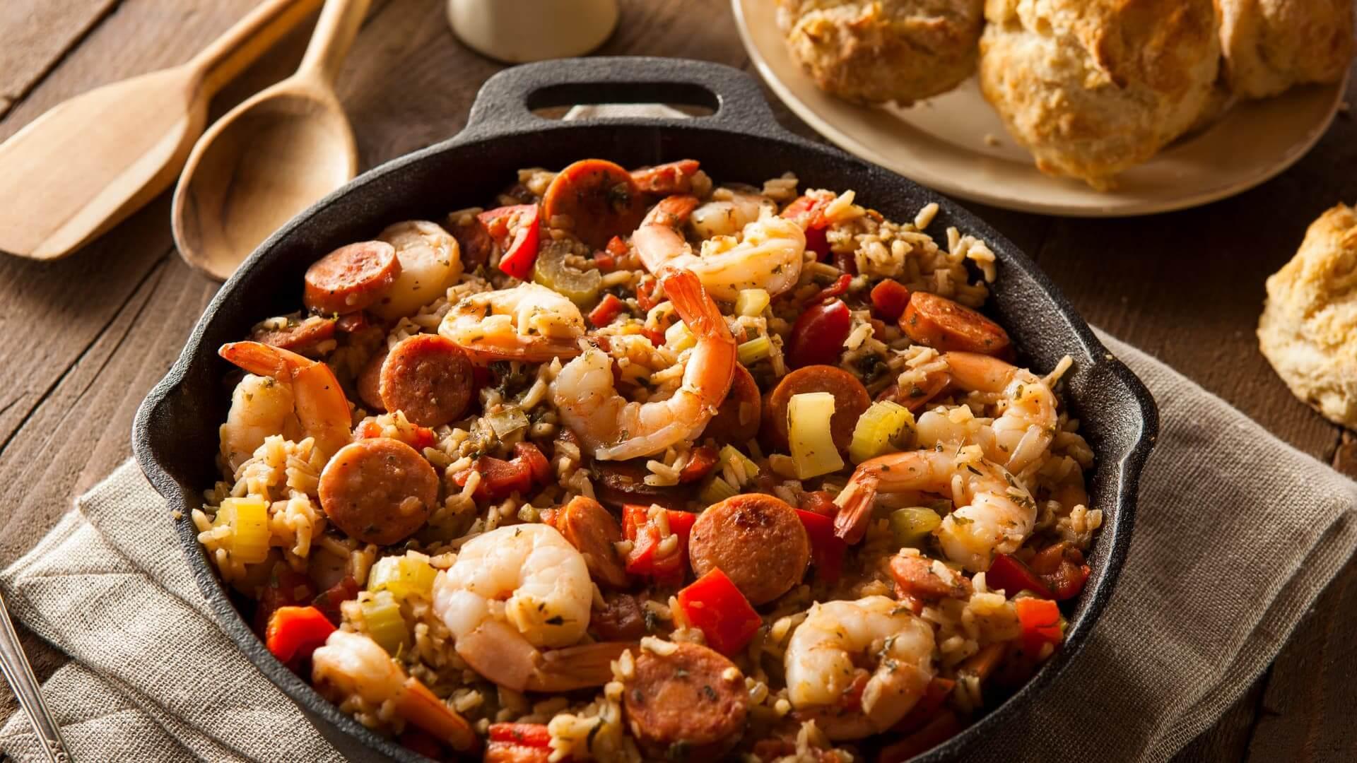 Cajun-Creole Recipes Jambalaya