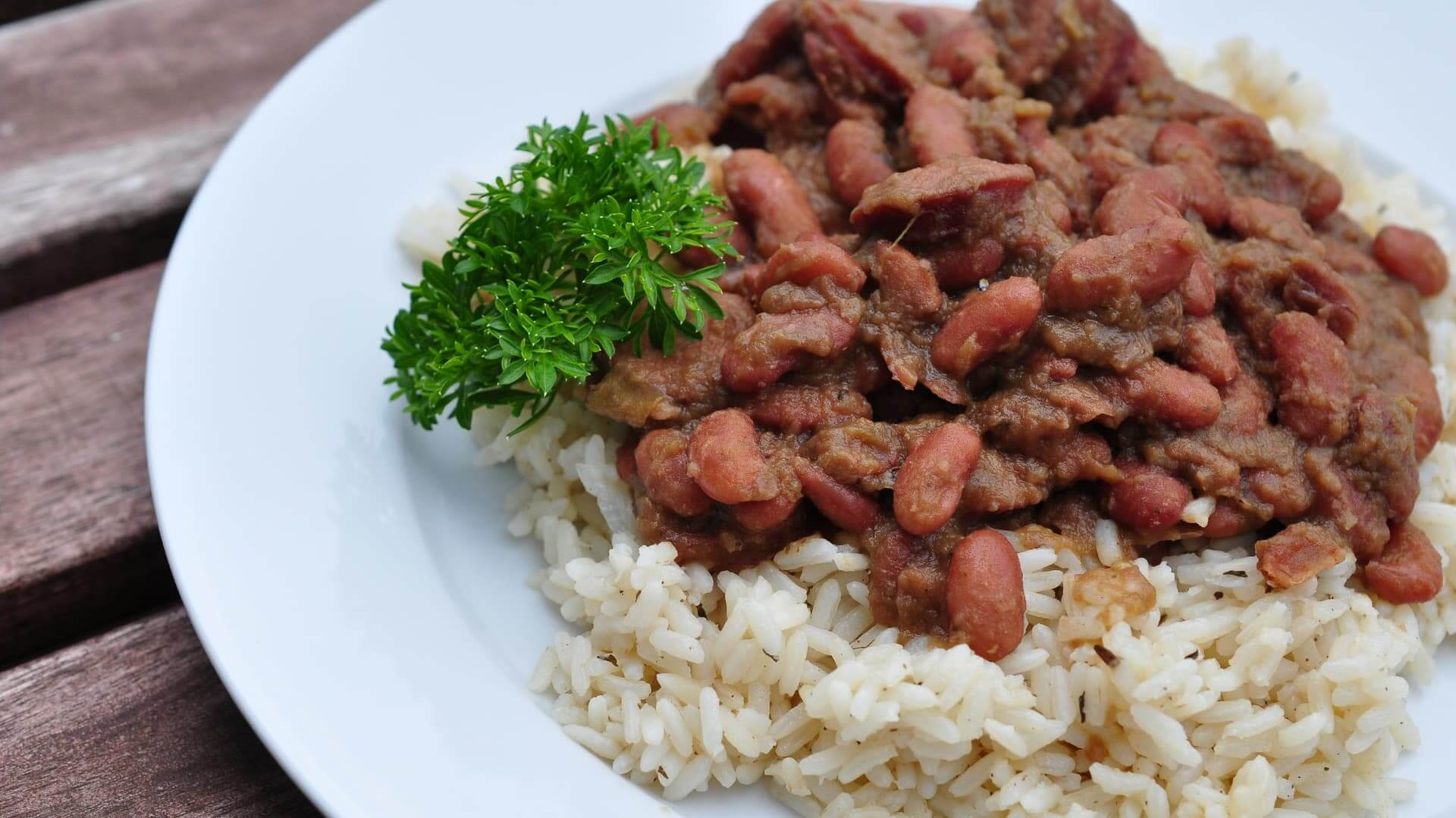 Cajun-Creole Recipes red beans and rice